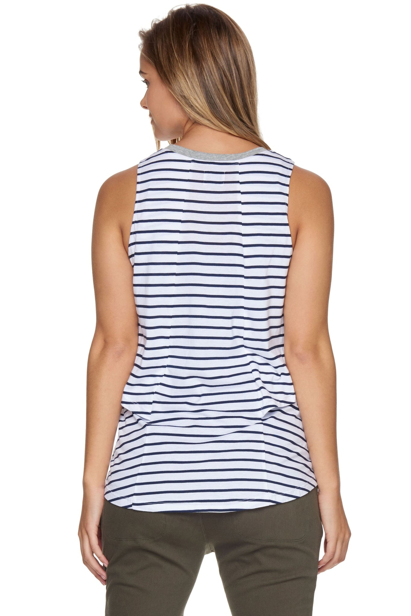 Nursing Top - Stripe 2