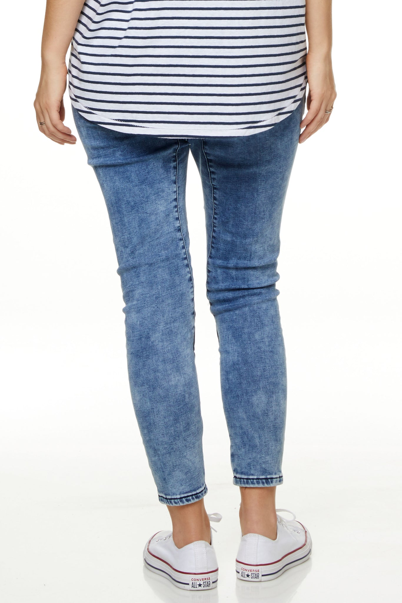 Maternity Jeans Joggers Image 3