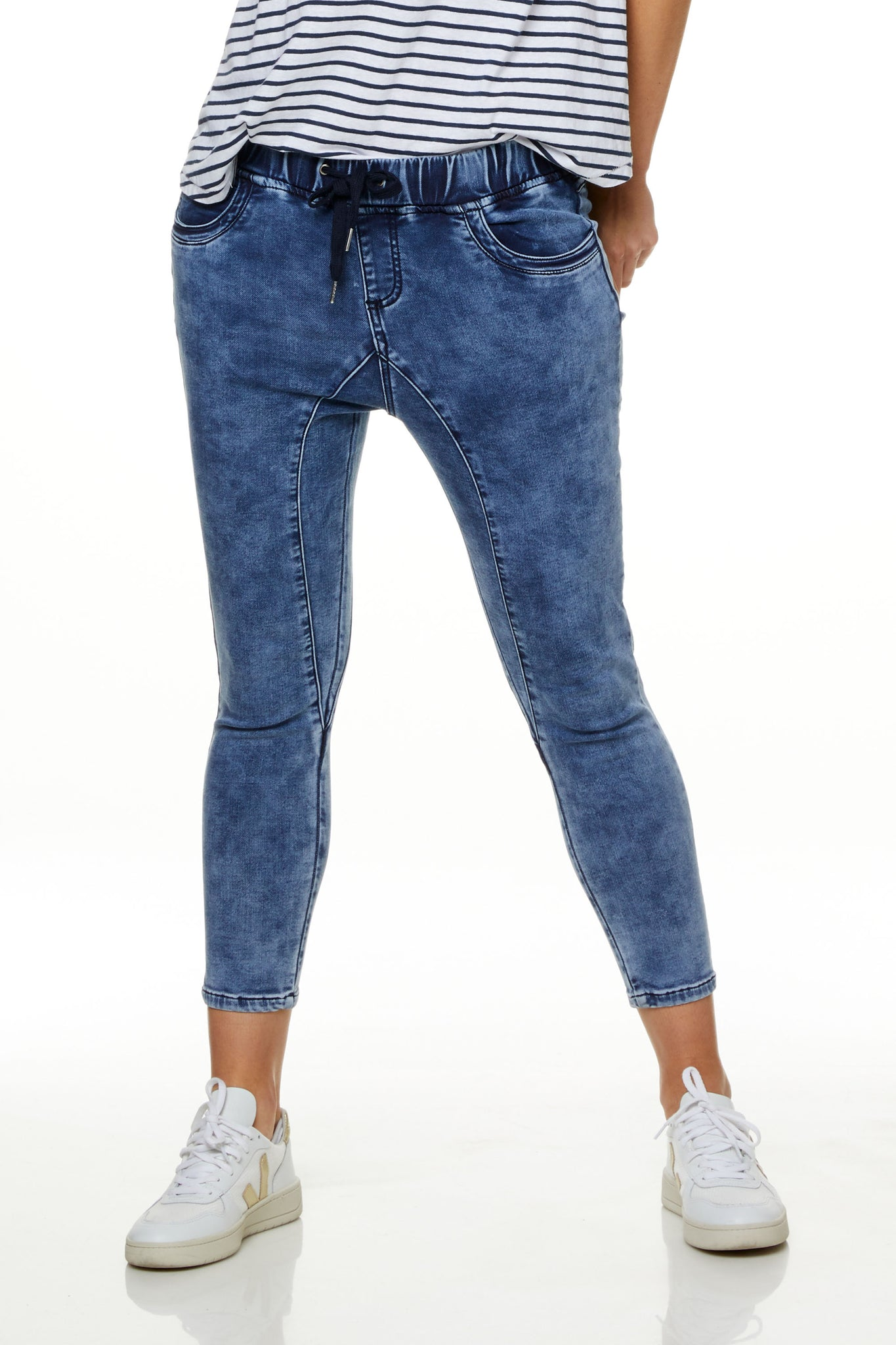 Maternity Jeans Joggers Image 6