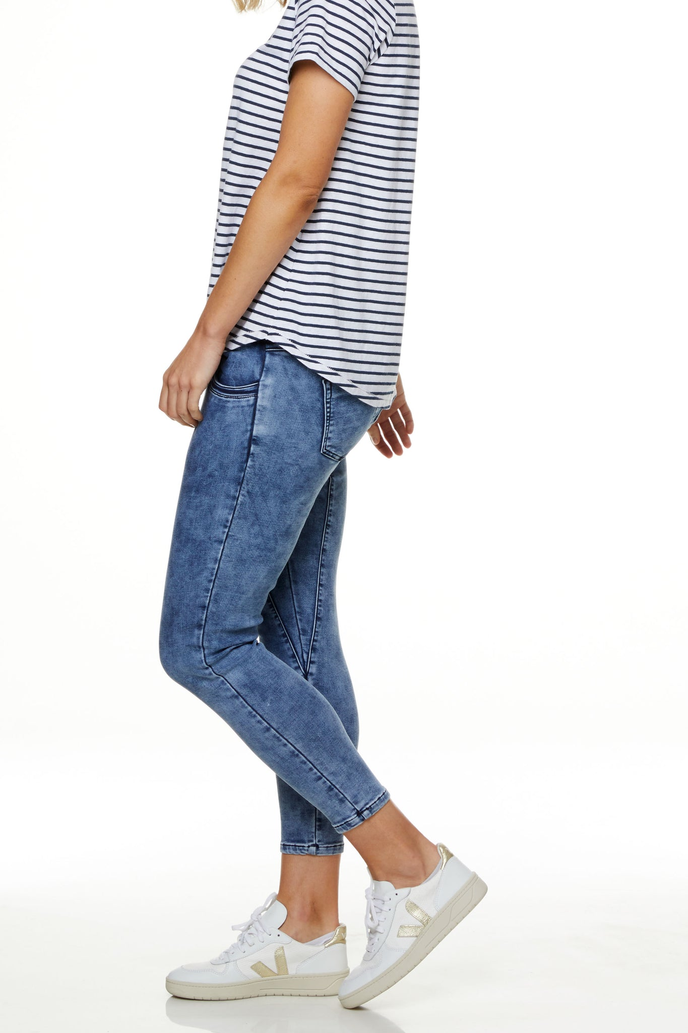 Maternity Jeans Joggers Image 7