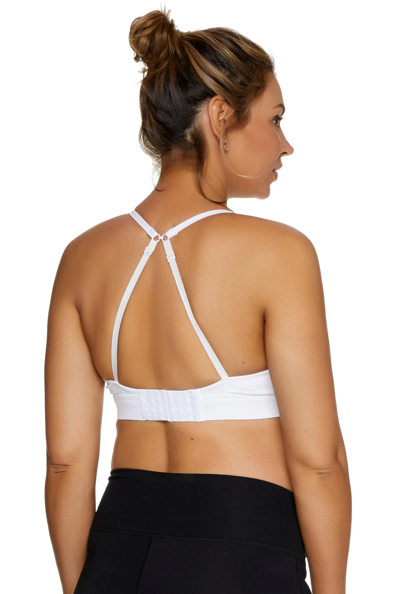 Maternity & Nursing crop top bra - White 4