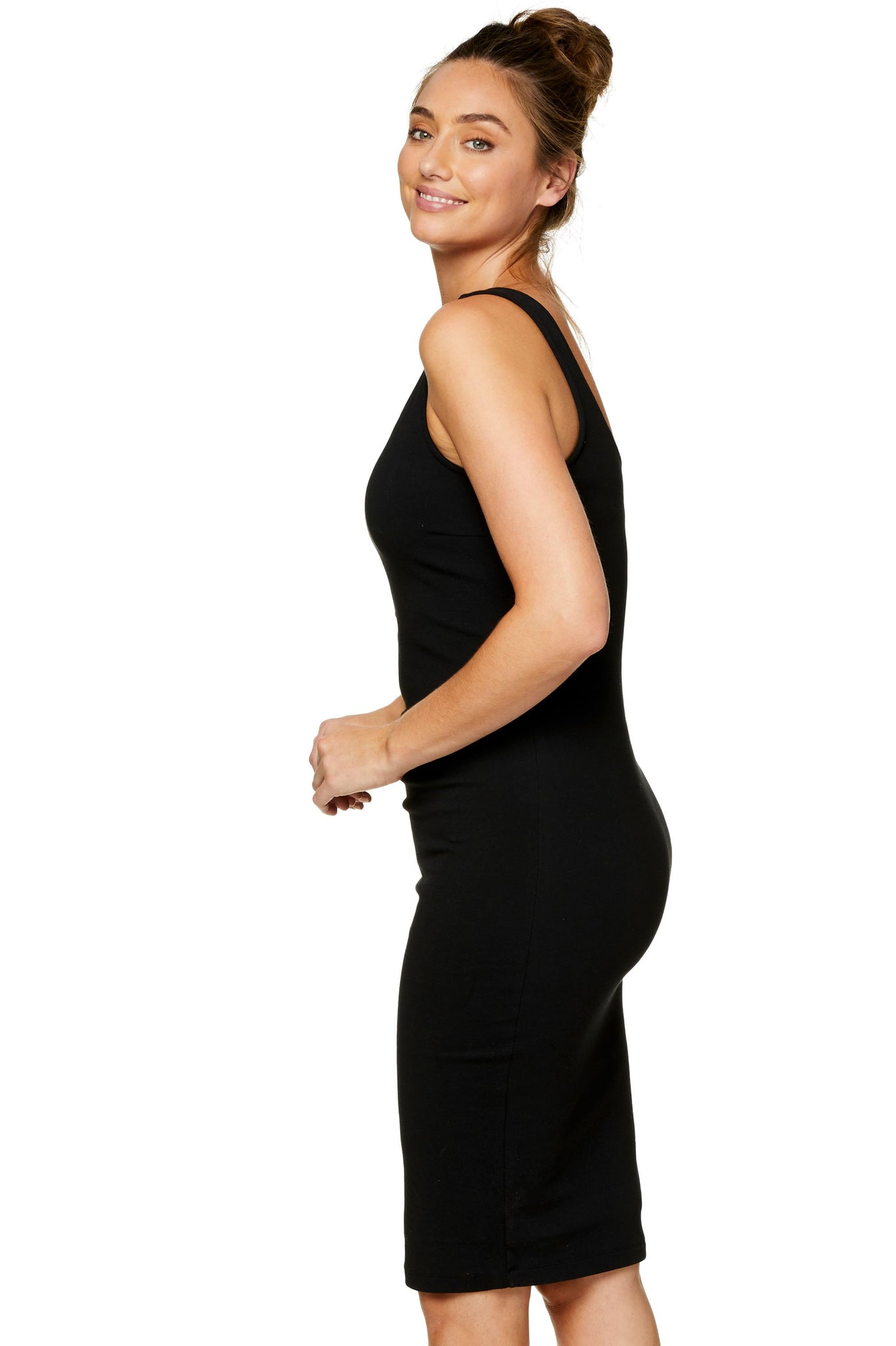 Maternity and Nursing Black Dress 7