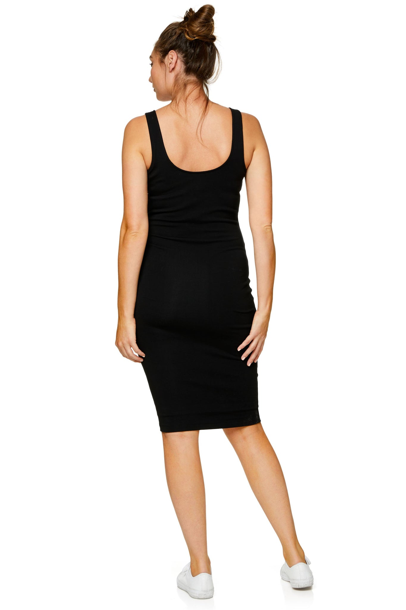 Maternity and Nursing Black Dress 8