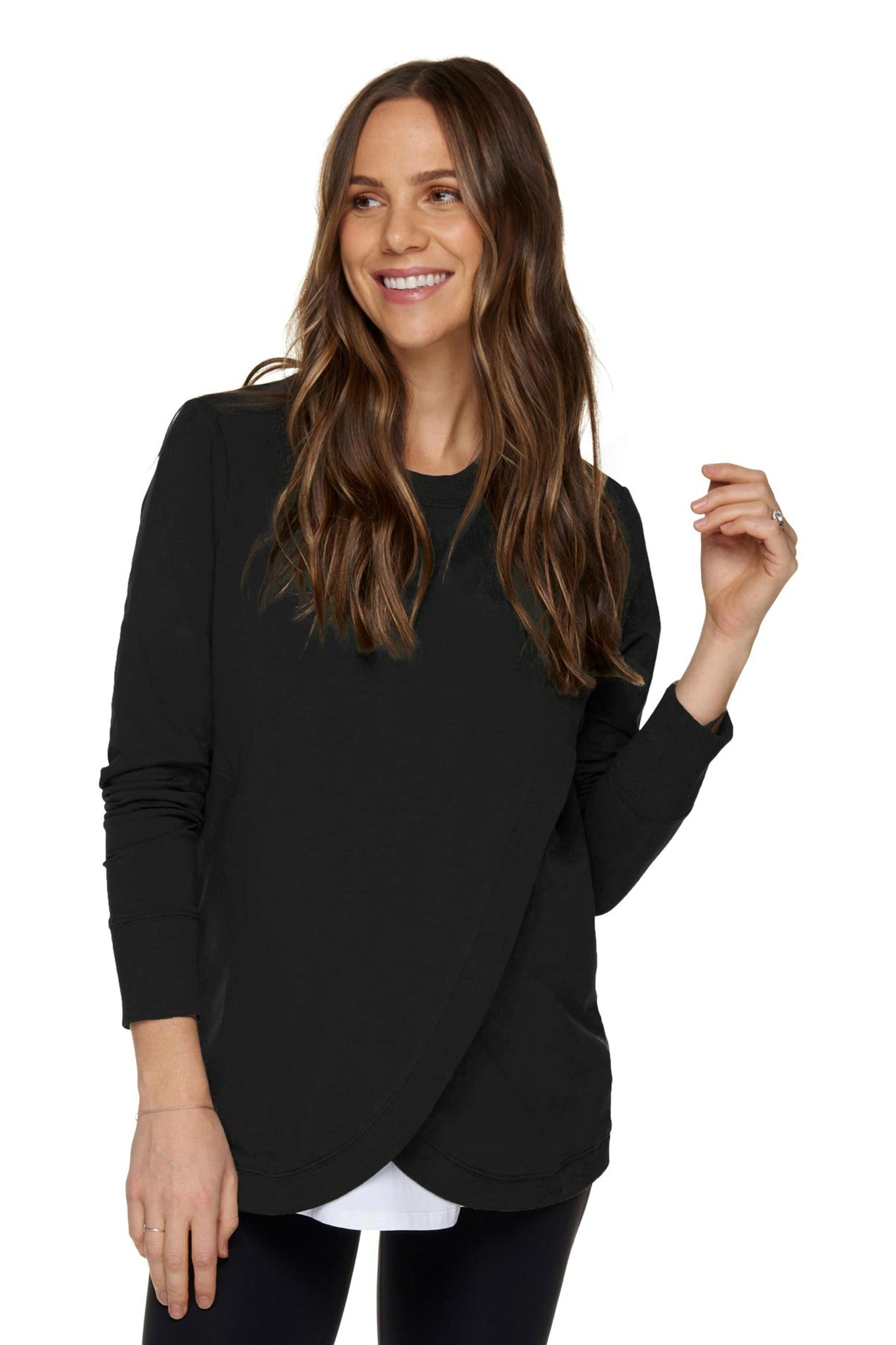 Black Nursing Sweat Top 2