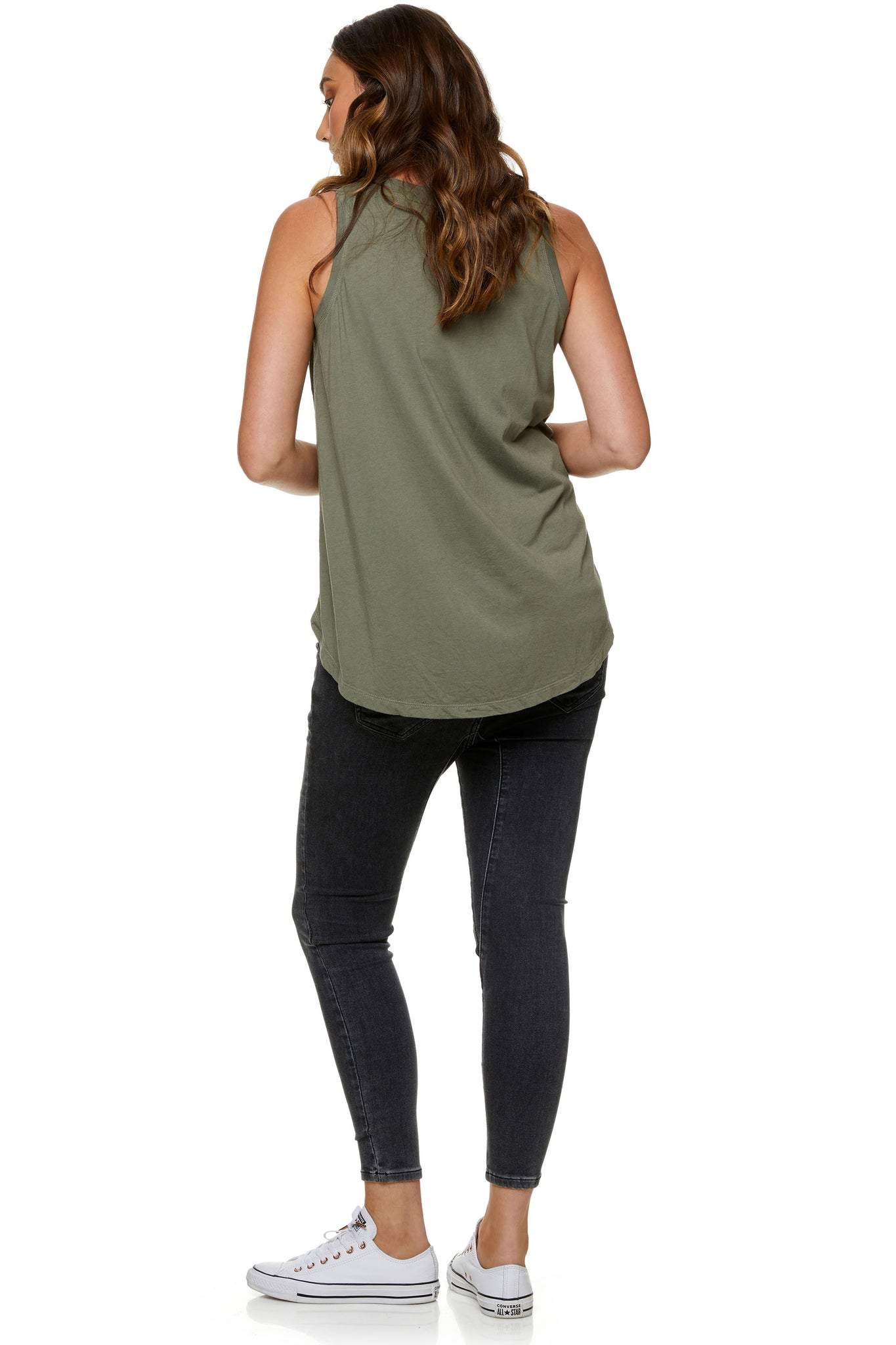 Maternity tank top Khaki 5