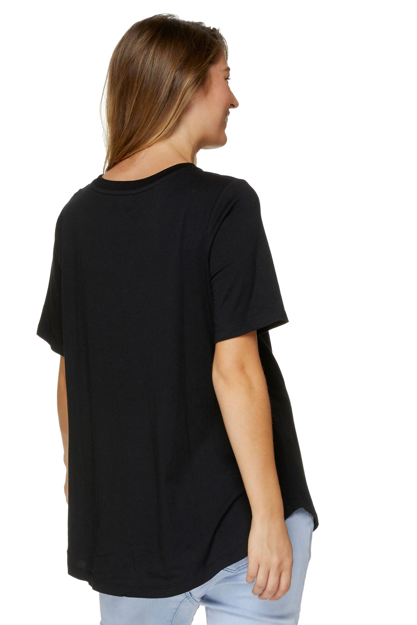 Maternity T Shirt - Black 3