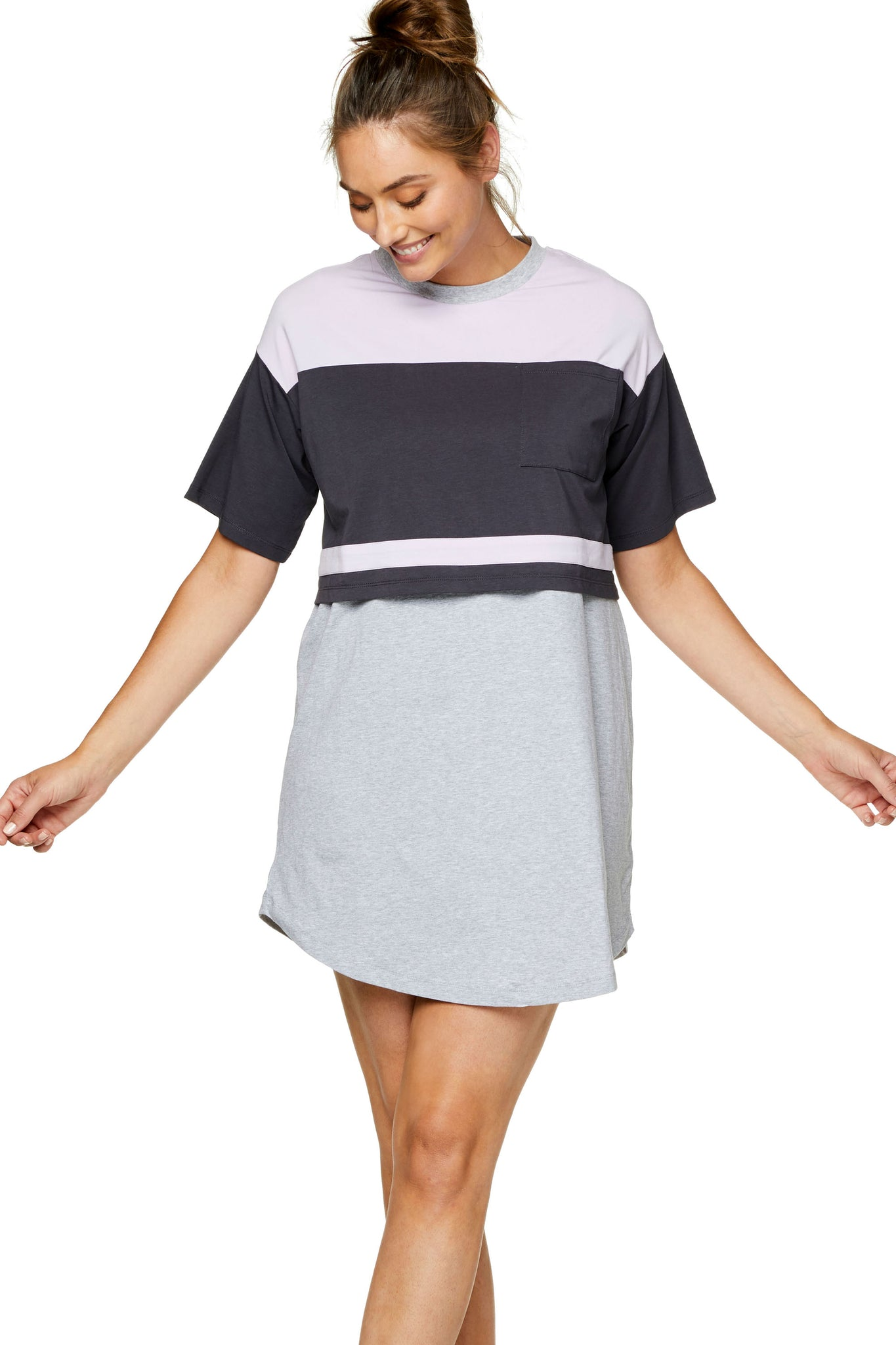 PRE-ORDER Night Life Nursing Dress