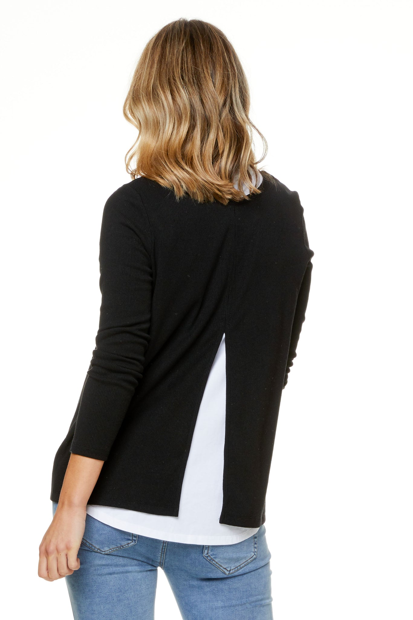 Back To Back Rib Tie Top