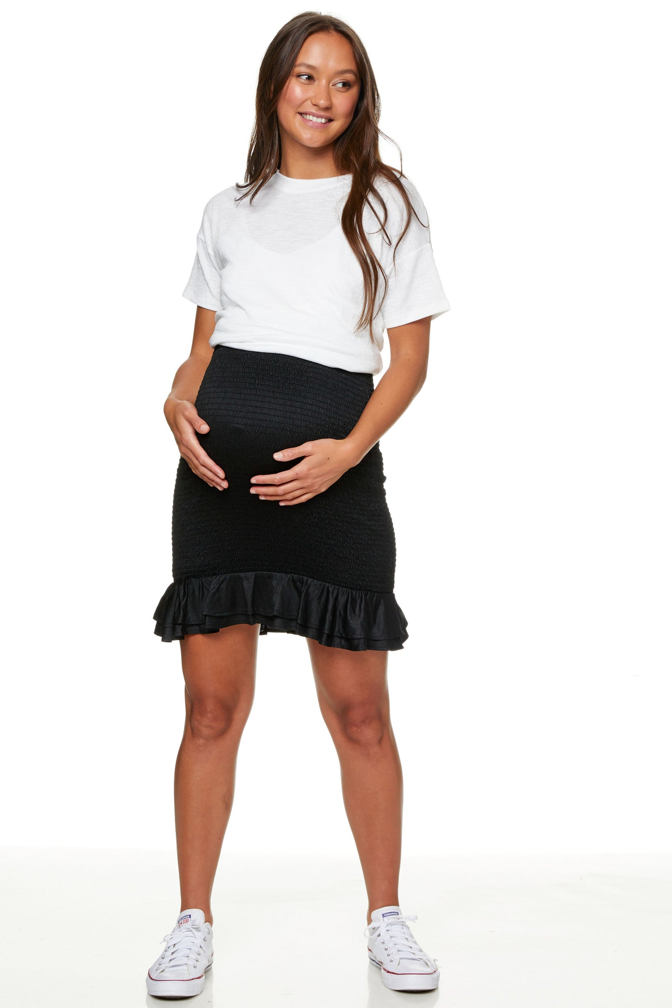 Utopian Shirred Skirt