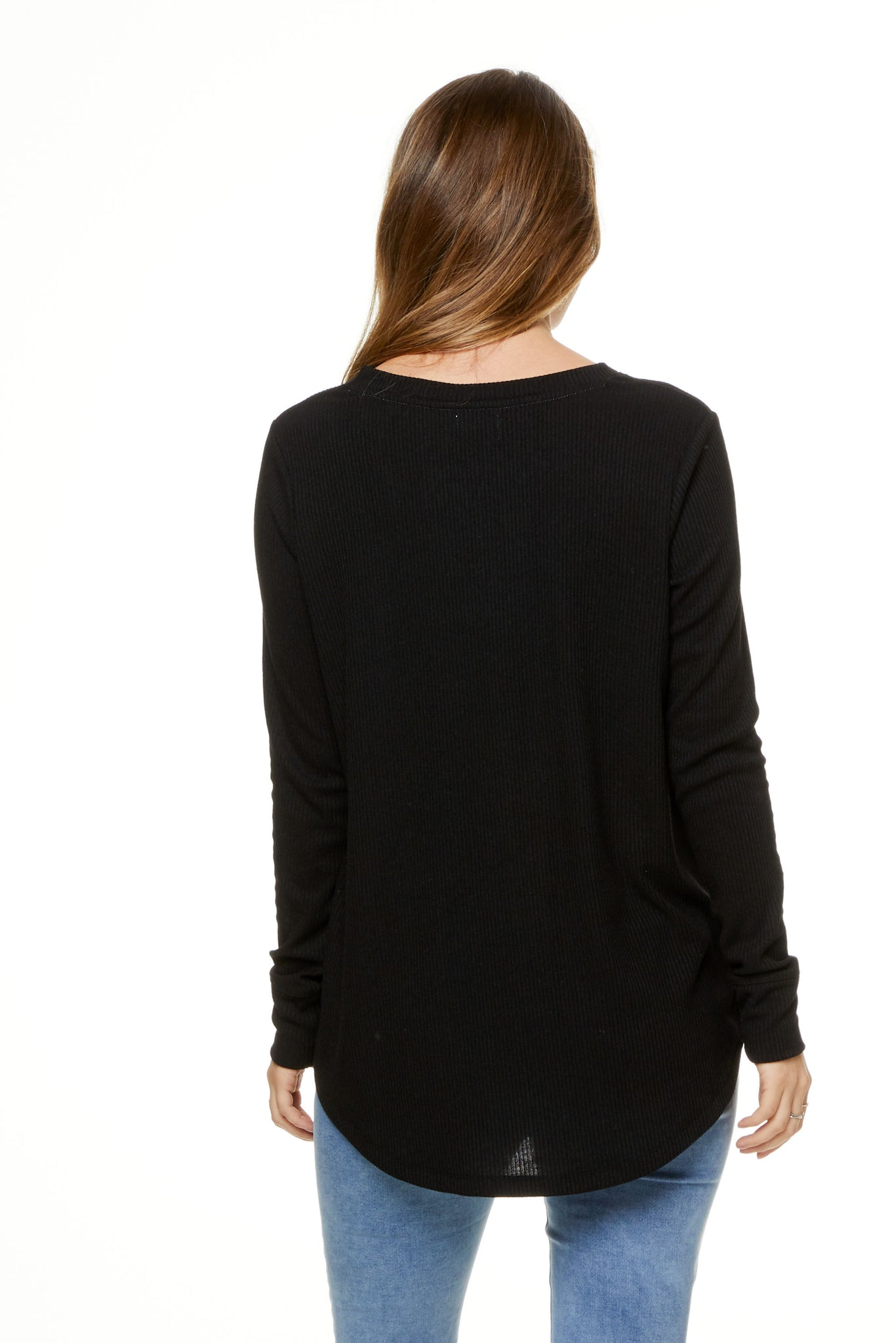 Maternity Top Black Image 3