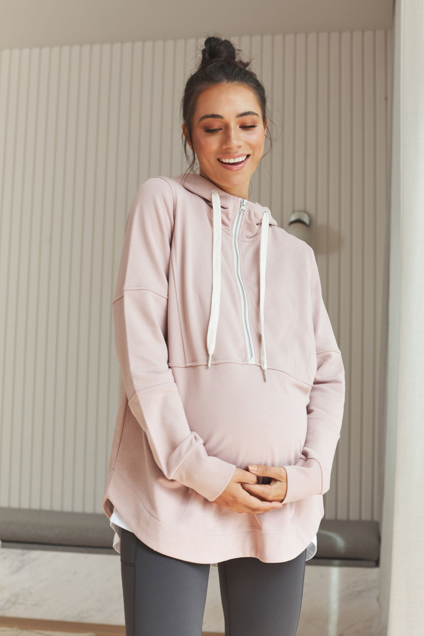 Maternity and Nursing Zip Hoodie 5