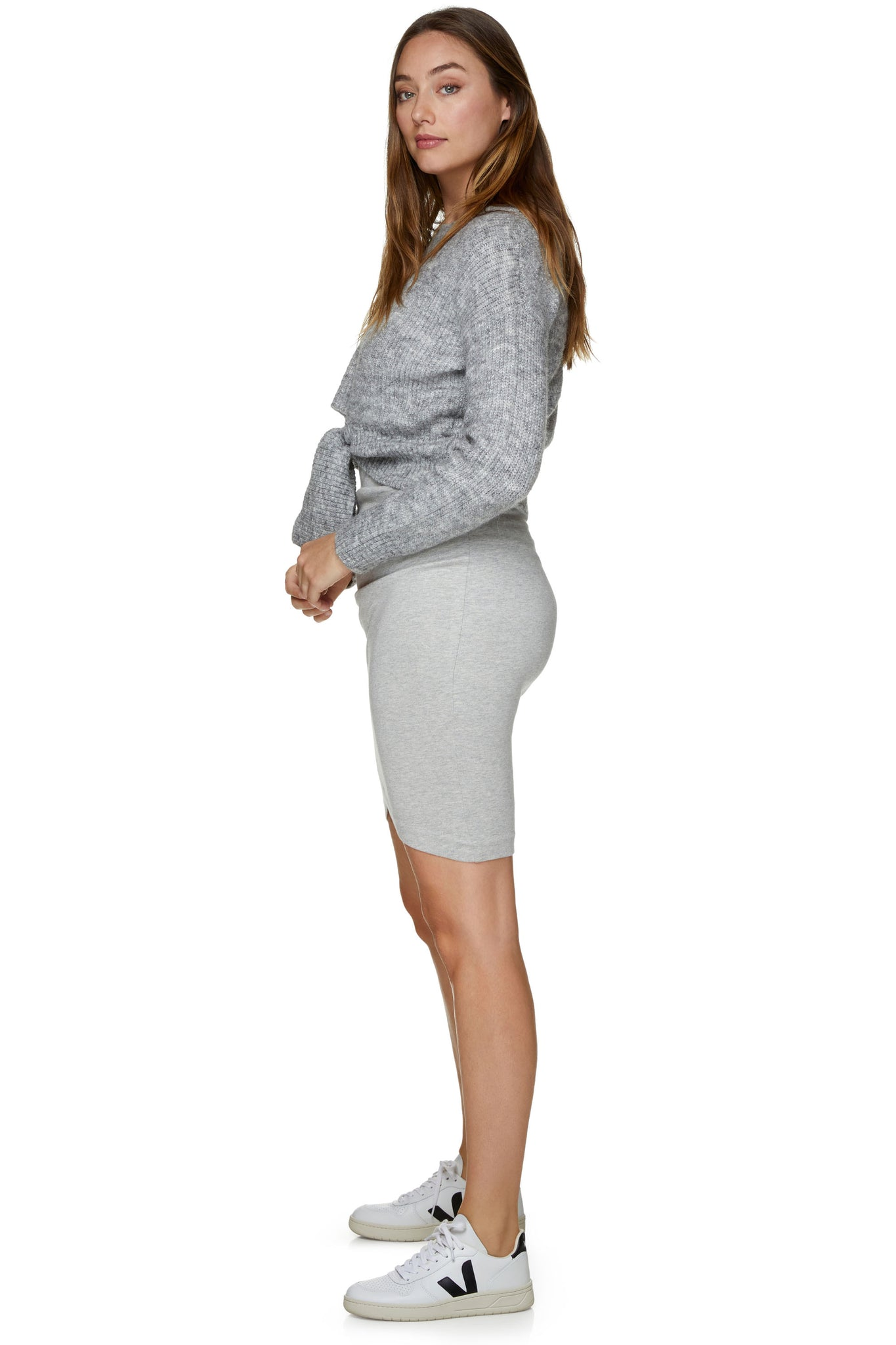 Maternity Grey Jumper 8