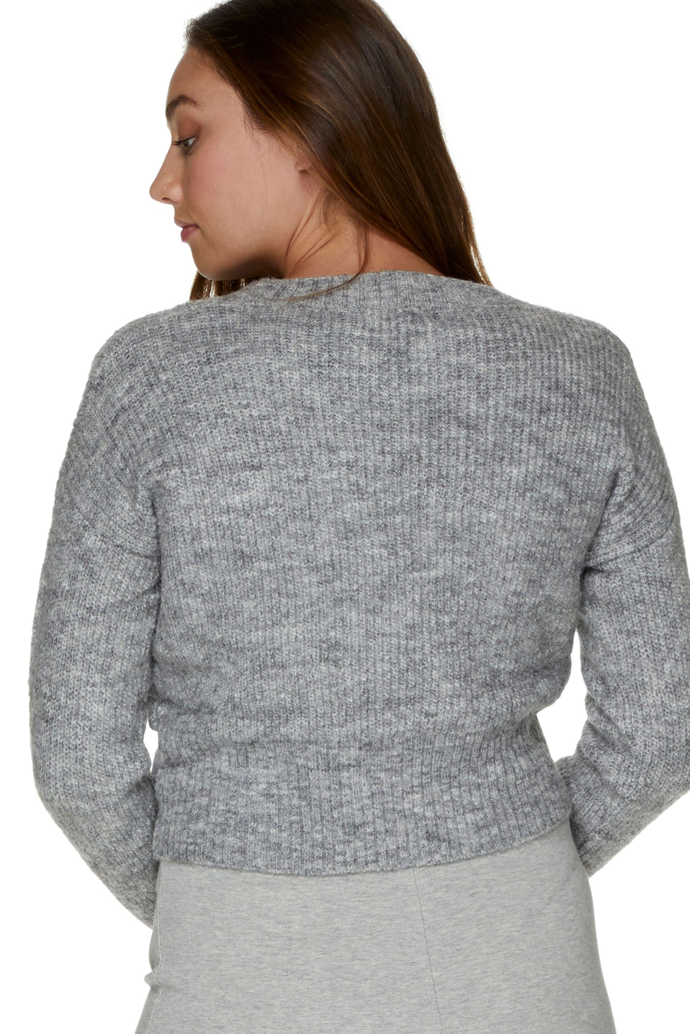 Maternity Grey Jumper 7