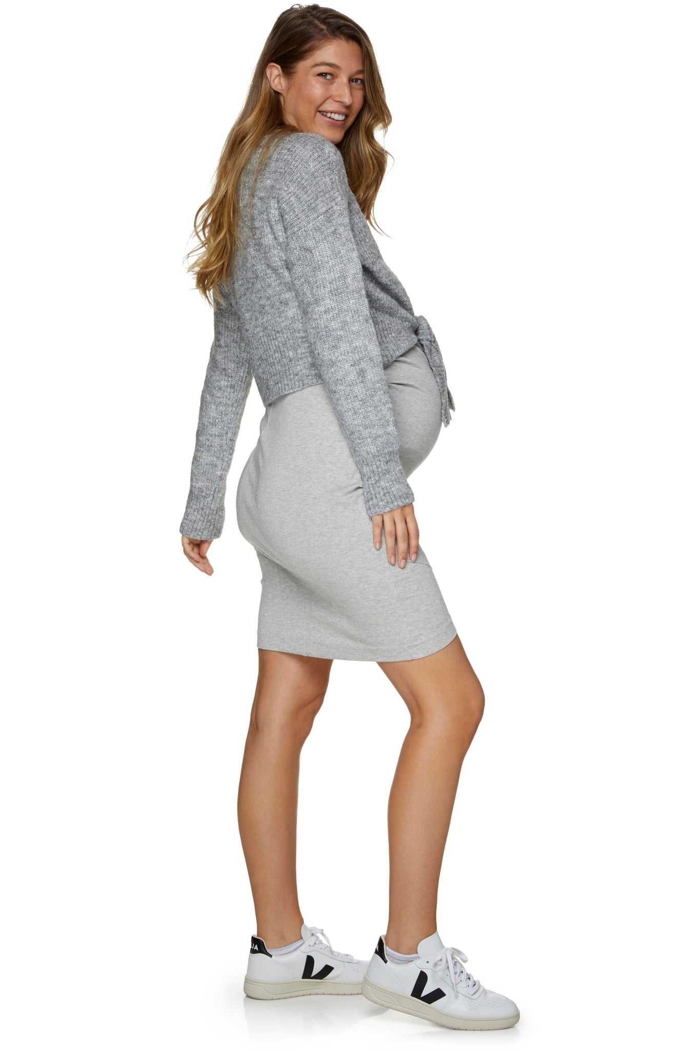Maternity Grey Jumper 2