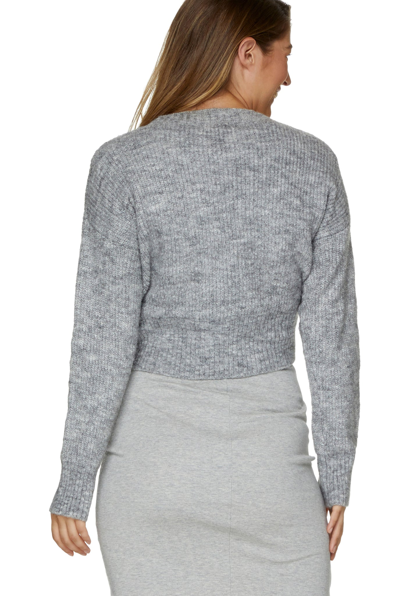 Maternity Grey Jumper 3