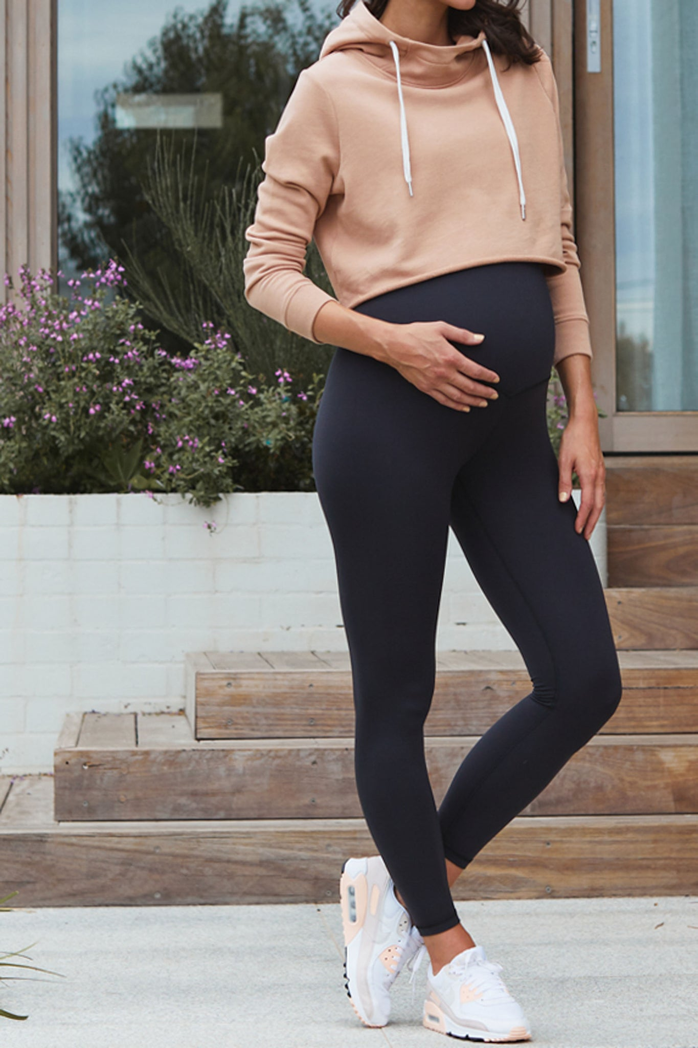 Maternity Leggings - Black 5