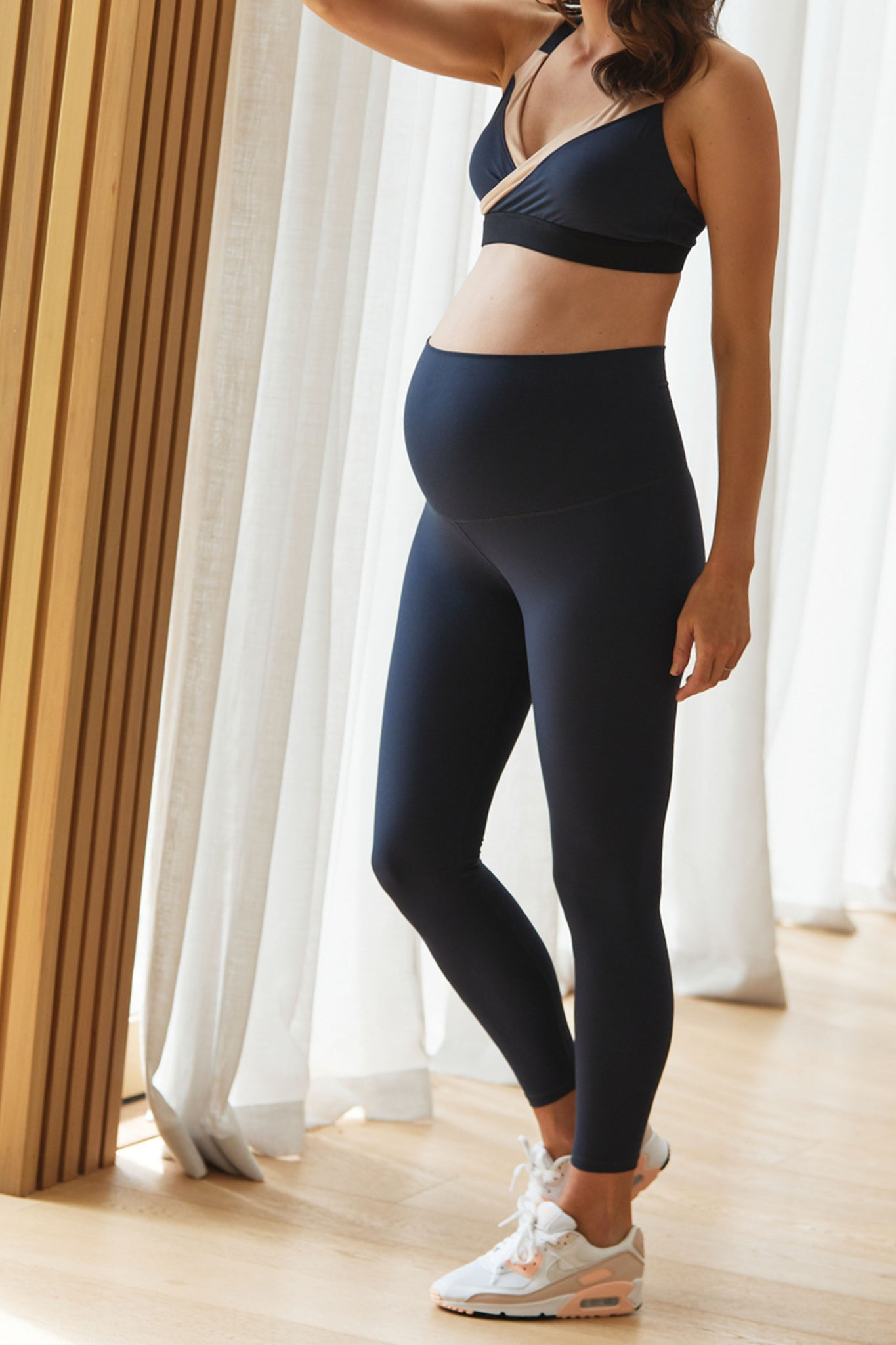 Maternity Tights - Navy 5