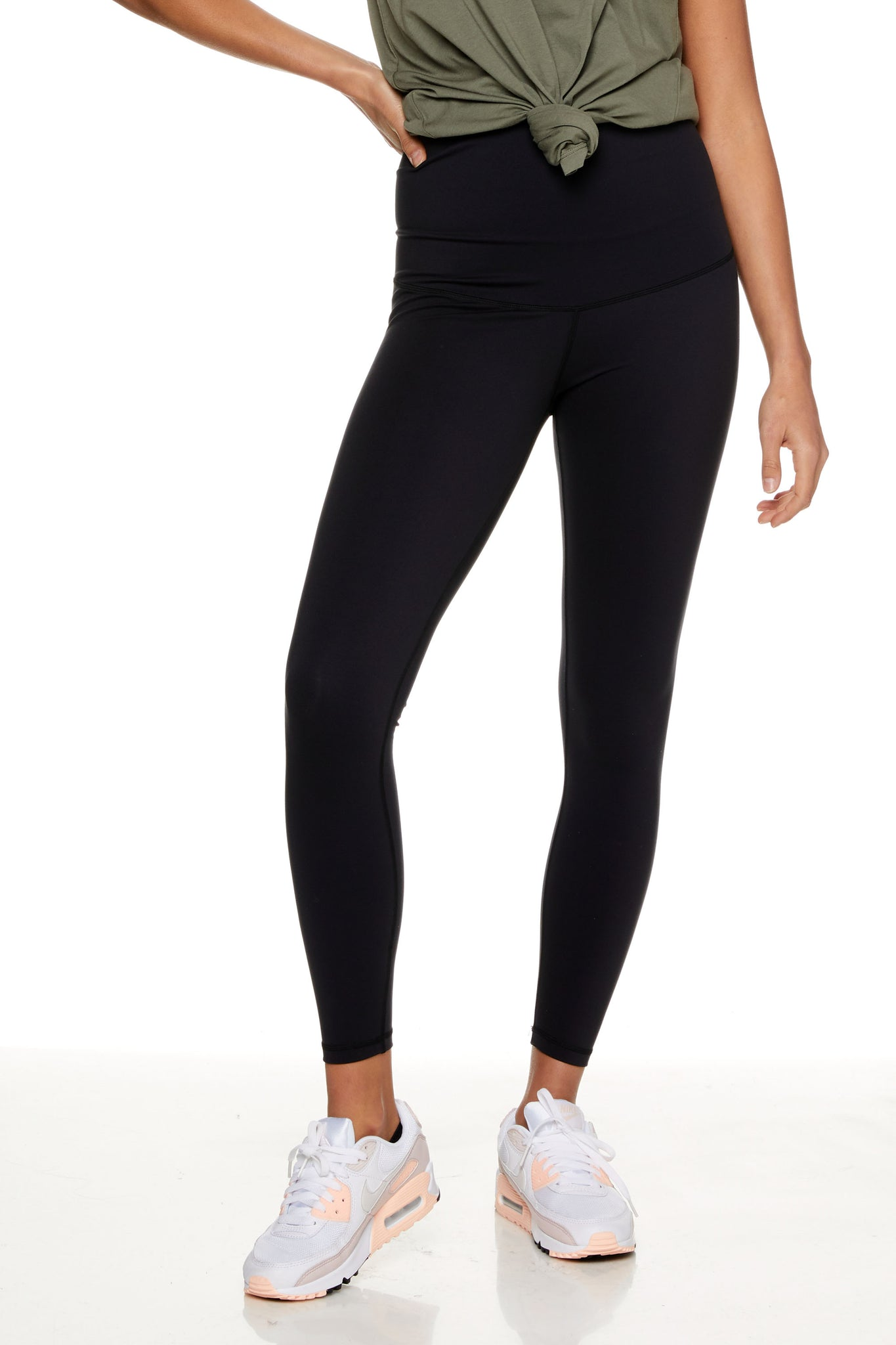 Black Maternity Sports Legging 6