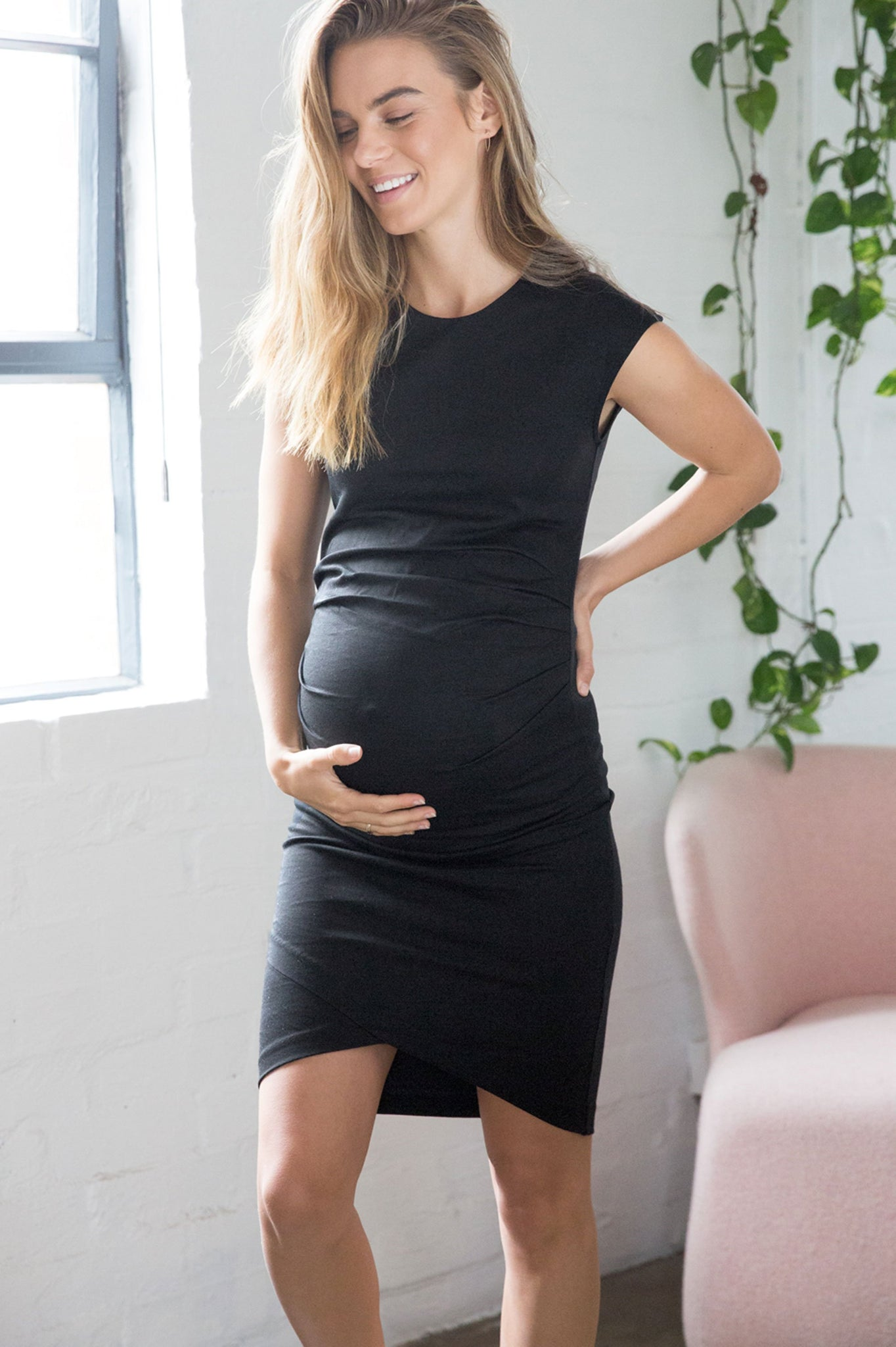 Black Maternity Dress - Formal Maternity Dress 8