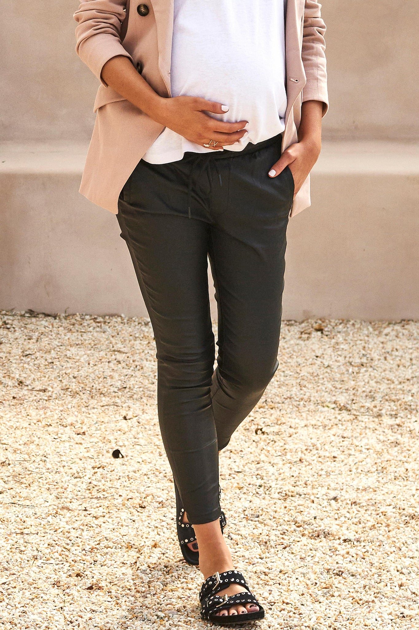 Maternity Work Pants - Black 5