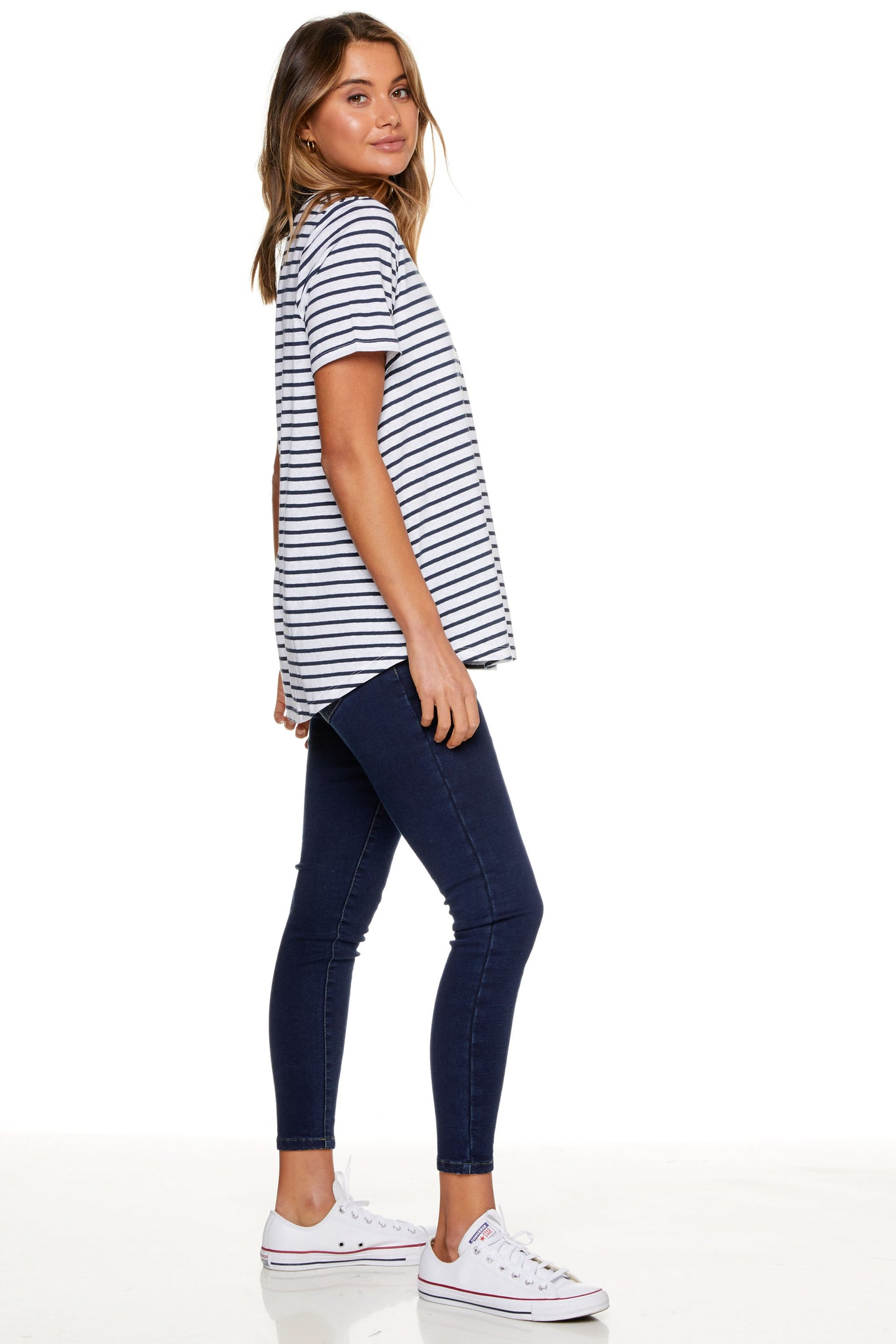 Take A Walk Underbump Skinny Jean
