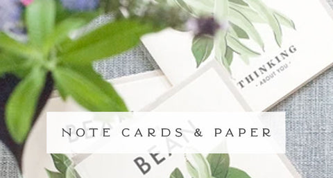 Note Cards & Paper Goods