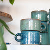 Teal Blue Green Ceramic Mugs - Gather Goods Co - Raleigh, NC