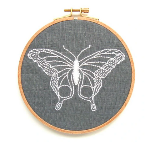 Embroidery Kit, Butterfly - Gather Goods Co - Raleigh, NC