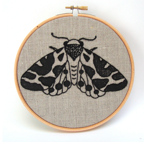 Embroidery Kit, Moth - Gather Goods Co - Raleigh, NC
