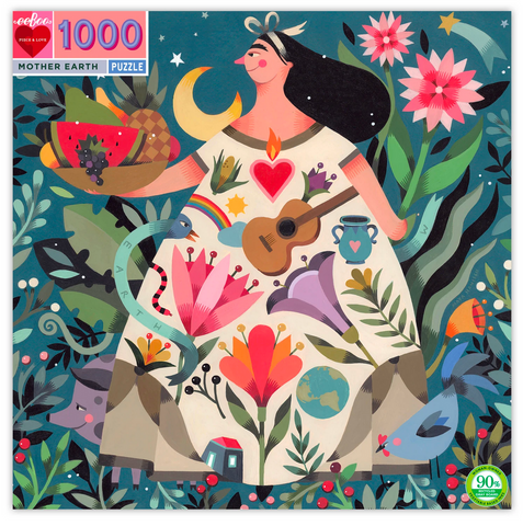 Mother Earth, 1000 Piece Puzzle - Gather Goods Co - Raleigh, NC