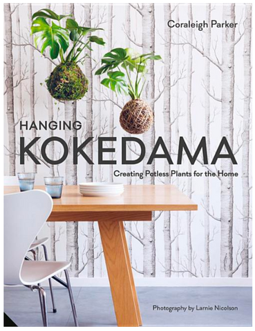 Hanging Kokedama: Creating Potless Plants for the Home - Gather Goods Co - Raleigh, NC