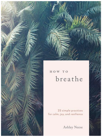 How to Breathe: 25 Simple Practices for Calm, Joy, and Resilience - Gather Goods Co - Raleigh, NC