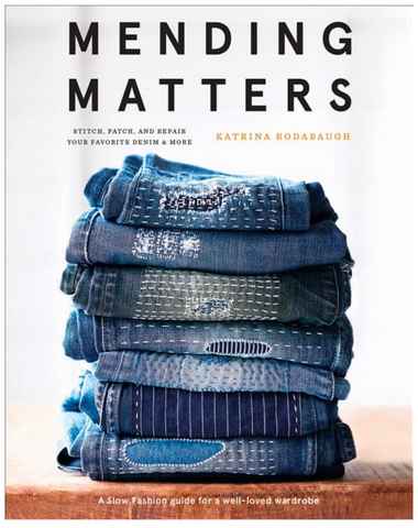 Mending Matters: Stitch, Patch, and Repair Your Favorite Denim & More - Gather Goods Co - Raleigh, NC