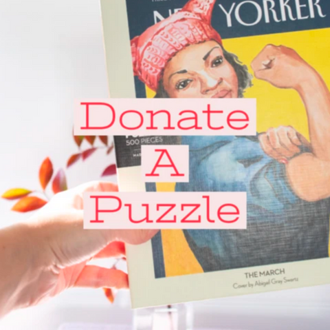 Donate a Puzzle to A Shelter or Senior Center from Gather Goods Co in Downtown Cary - Gather Goods Co - Raleigh, NC
