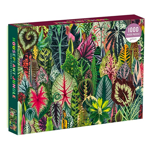 Jungle Houseplant, 1000 Piece Puzzle - Gather Goods Co - Raleigh, NC
