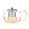 Glass Teapot with Loose Leaf Tea Infuser - Gather Goods Co - Raleigh, NC