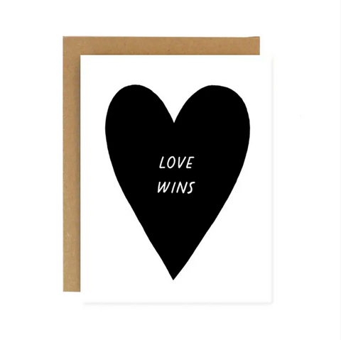 Love Wins Note Card