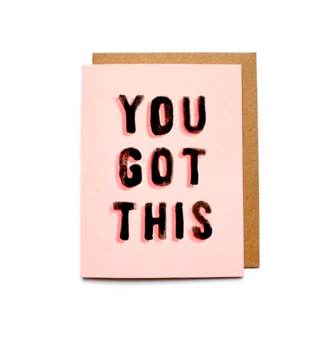 You Got This Note Card