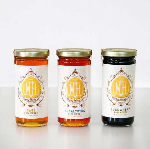 Honey Gift Set of 3 Varieties
