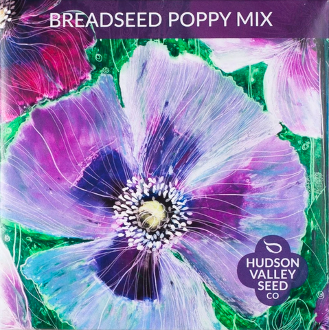 Breadseed Poppy Mix Flower Seeds