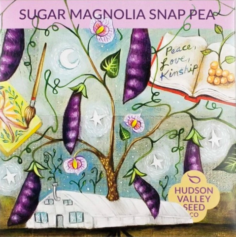 Sugar Magnolia Snap Pea Vegetable Seeds