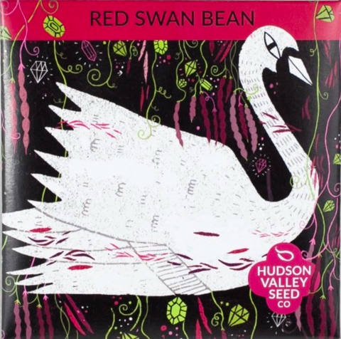 Red Swan Bean Vegetable Seeds