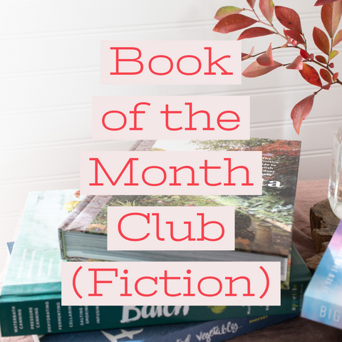 Book of the Month Club, Fiction - Gather Goods Co - Raleigh, NC