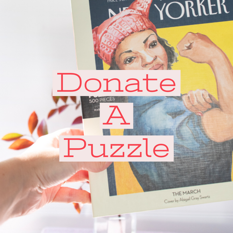 Donate a Puzzle, Pay It Forward - Gather Goods Co - Raleigh, NC