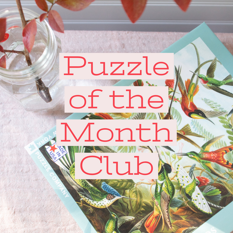 Puzzle of the Month Club - Gather Goods Co - Raleigh, NC