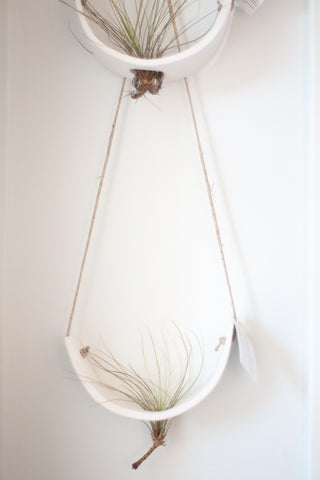 Hanging Ceramic Hanger - Gather Goods Co - Raleigh, NC