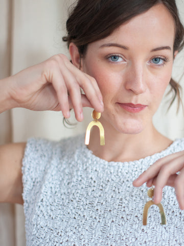 Arches Earrings - Gather Goods Co - Raleigh, NC