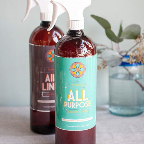 Lemon & Mint All Purpose Cleaner - Gather Goods Co - Raleigh, NC