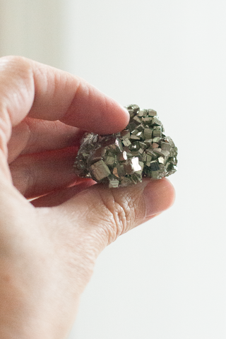 Pyrite Stone Crystal, Energy, Creativity - Gather Goods Co - Raleigh, NC