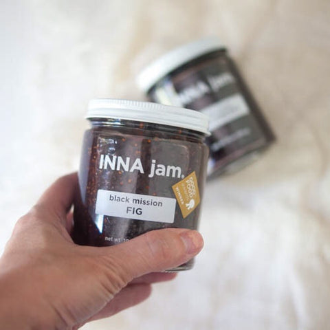 INNA Jam. Black Mission Fig, 10oz